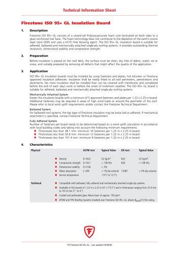 Firestone ISO 95+ GL Insulation Board