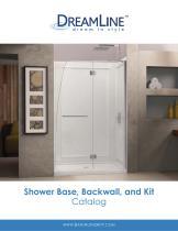 Shower Base, Backwall, and Kit Catalog