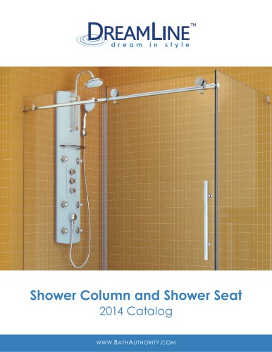 Shower Column and Shower Seat 2014 Catalog