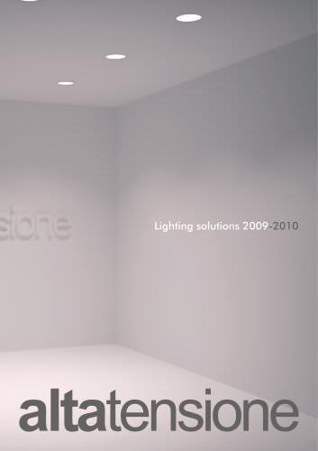 Altatensione Lighting Solution 2009-2010