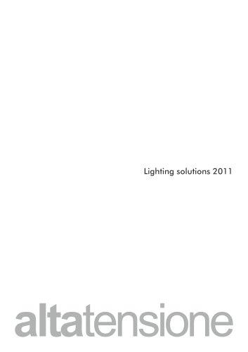 Altatensione Lighting Solution 2011 Euroluce