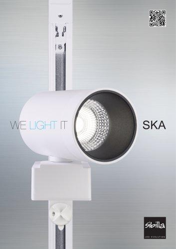 WE LIGHT IT SKA