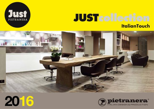 Just Pietranera Catalogue 2016