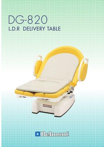 DG-820 DG-820 L.D.R DELIVERY TABLE