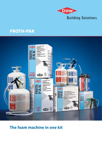 FROTH-PAK The Foam Machine in One Kit