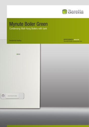 Condensing Wall-Hung Boilers with tank