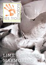 Brochure Lime Products - Marmorino - Stucco - Les 3 Matons