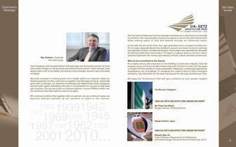 Getz Company Profile 2010 - 2