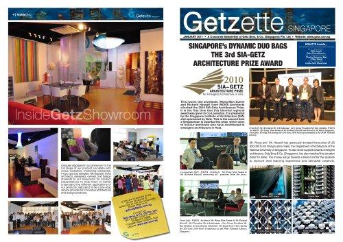 Getz News Letter 2011