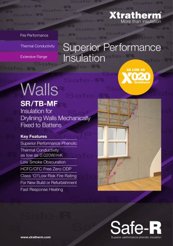 Superior Performance Dry Lining Insulation Board