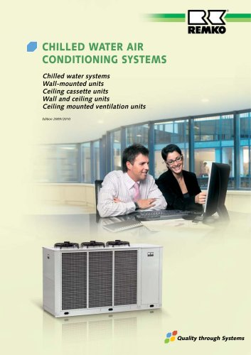 Chilled Water Air Conditioning Systems 2010 11 Remko Gmbh Co Kg Pdf Catalogs Documentation Brochures