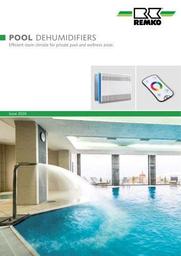 Pool dehumidifiers
