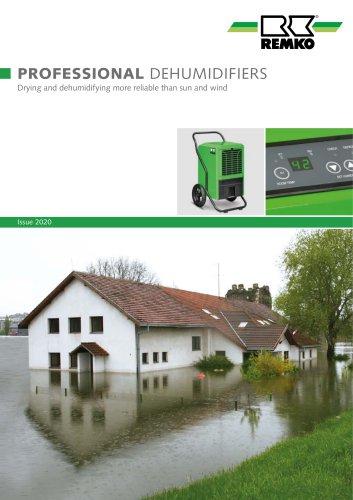 Professional dehumidifiers
