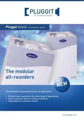 Pluggit Avent ventilation units