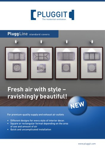 PluggLine standard covers
