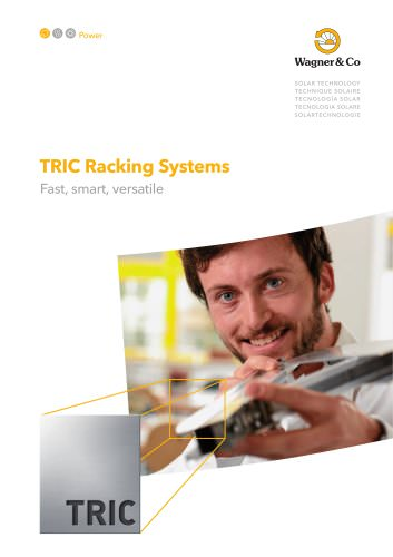 TRIC Racking Systems - fast, smart, versatile