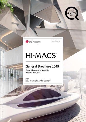 HI-MACS General Brochure 2019