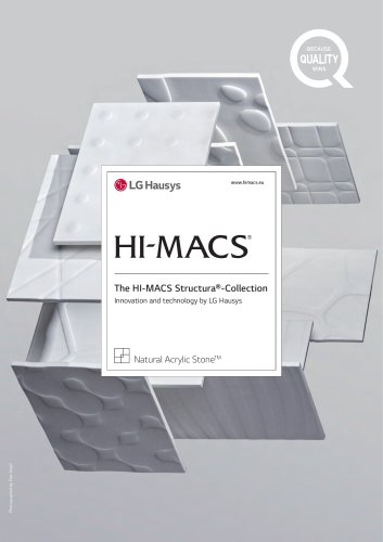 The HI-MACS Structura® -Collection