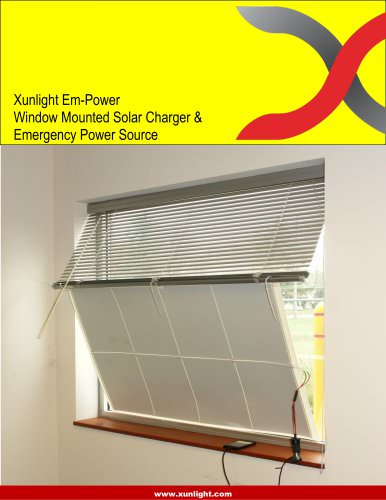 50-watt Window Mounted Emergency Power Kit