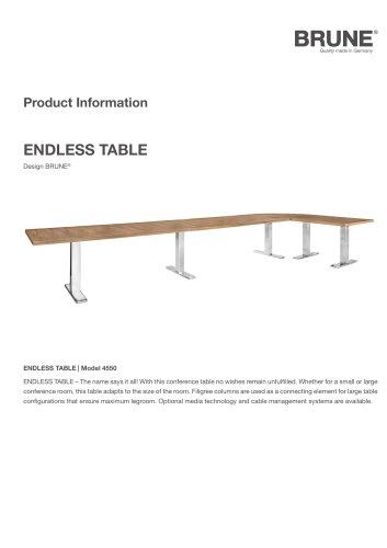 ENDLESS TABLE Model 4550