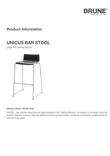 UNICUS bar stool