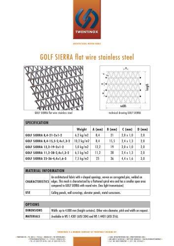 GOLF SIERRA flat wire