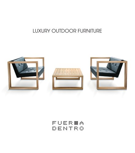 Terrific Fueradentro Luxury Outdoor Furniture Fueradentro Pdf Caraccident5 Cool Chair Designs And Ideas Caraccident5Info