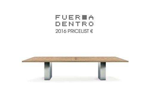 pricelist EURO 2016