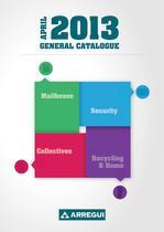 Arregui General Catalogue 2013