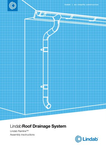roof drainage system assembly