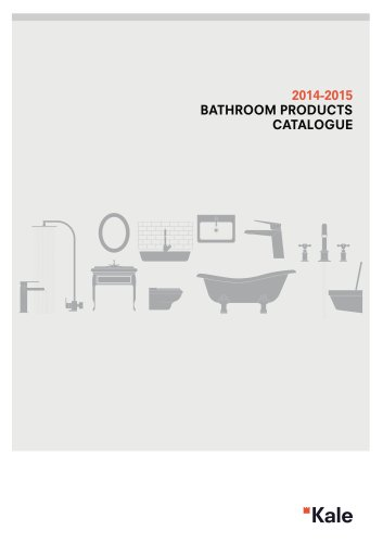 2014-2015 Bathroom Products Catalogue