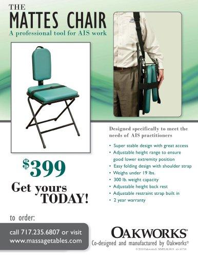 Mattes Chair Flyer