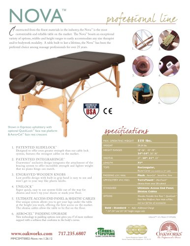 Nova Portable Massage