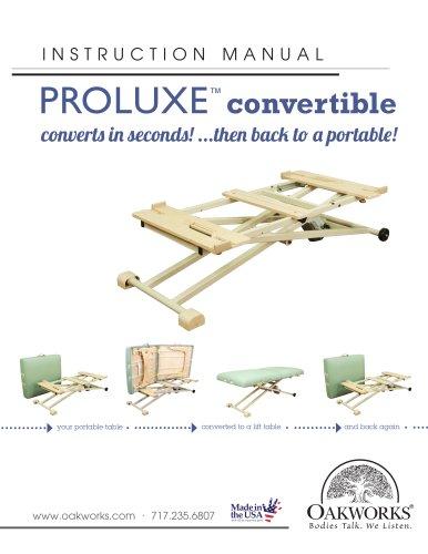 ProLuxe Convertible