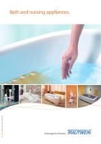 Bath and nursing appliances