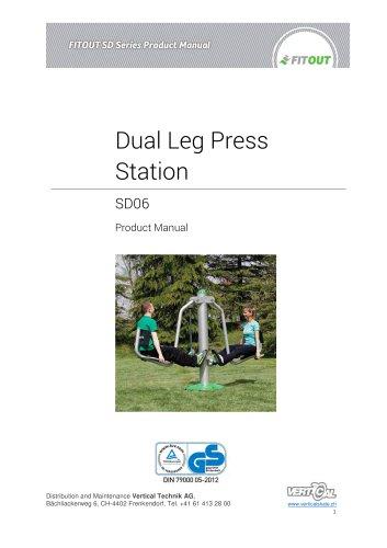 Dual Leg Press Station