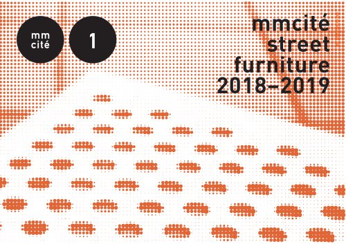 mmcité street furniture 2018-2019