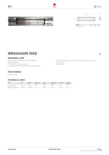 IRRAGGIAMI 1500