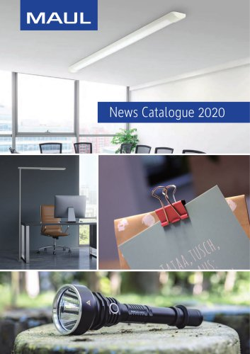 News Catalogue 2020