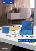 OFFICE SUPPLIES 2021/2022 - 1