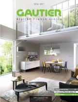 Gautier catalog 2016/2017 Dining, Living and Adult Bedrooms