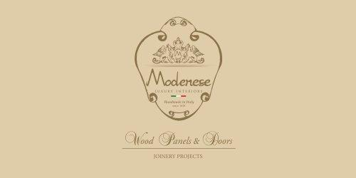 Wood Panels and Doors