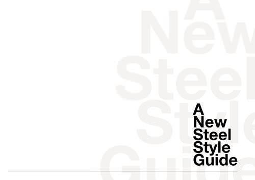 Steel general catalogue