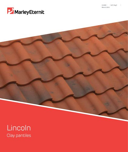 Lincoln Clay Pantiles