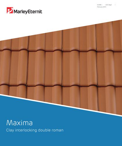 Maxima Clay interlocking double roman