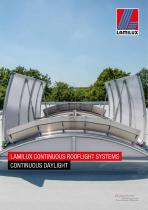 LAMILUX CONTINUOUS ROOFLIGHT SYSTEMS - 1