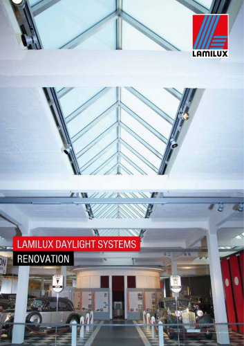 LAMILUX DAYLIGHT SYSTEMS RENOVATION