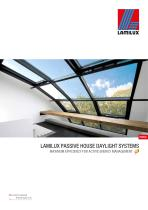 LAMILUX PASSIVE HOUSE DAYLIGHT SYSTEMS - 1