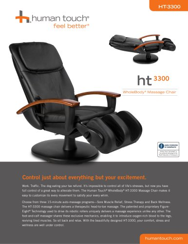 human touch ijoy 2580 robotic massage chair