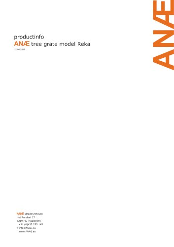 tree grate model Reka
